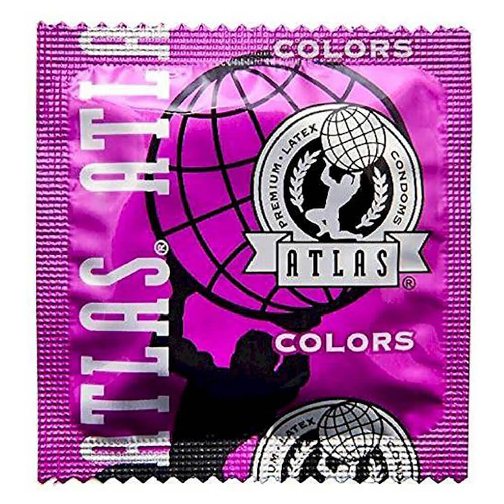 Image of Atlas Colors Condoms 100-Pack