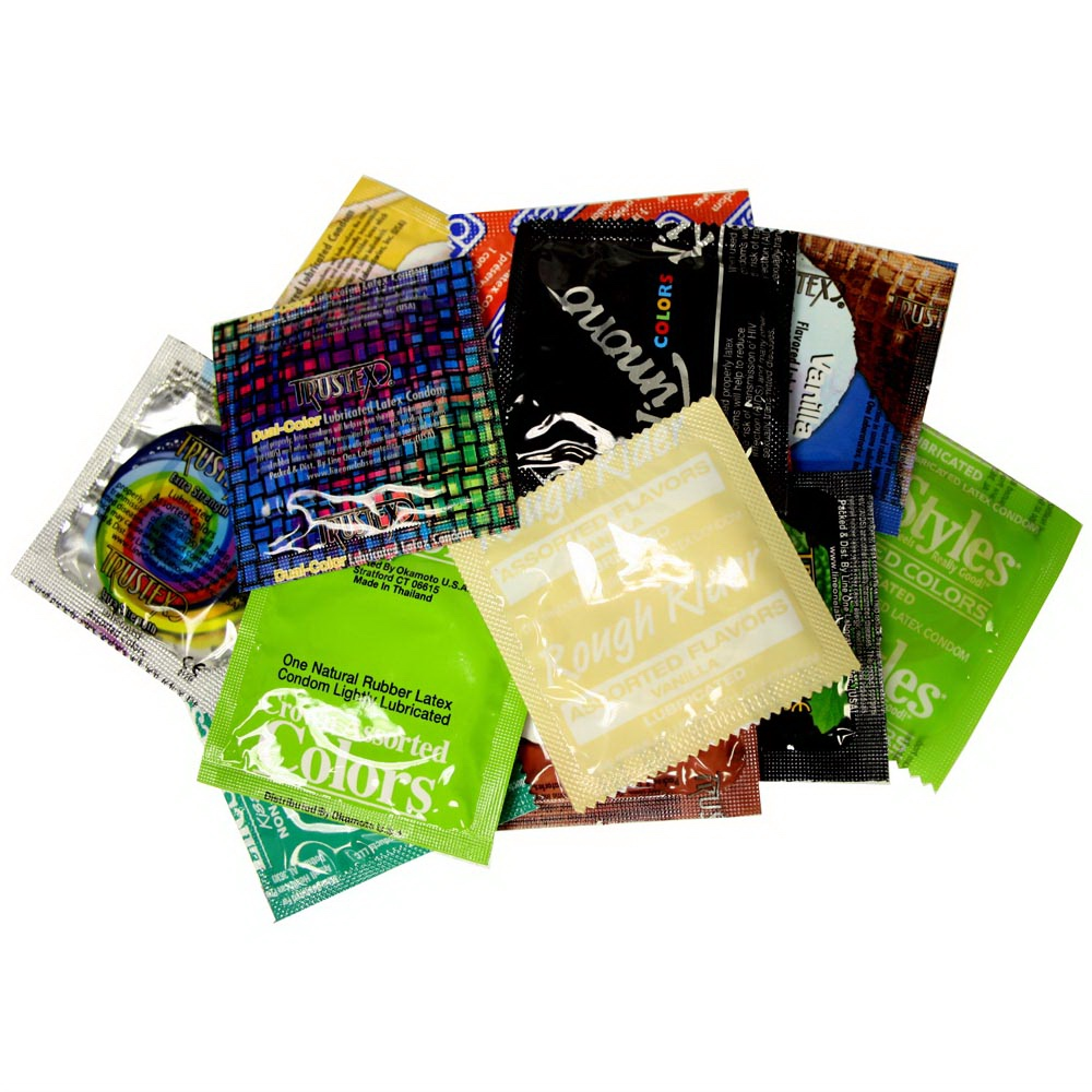 Image of Colors & Flavors Condom Variety Pack 36-pack