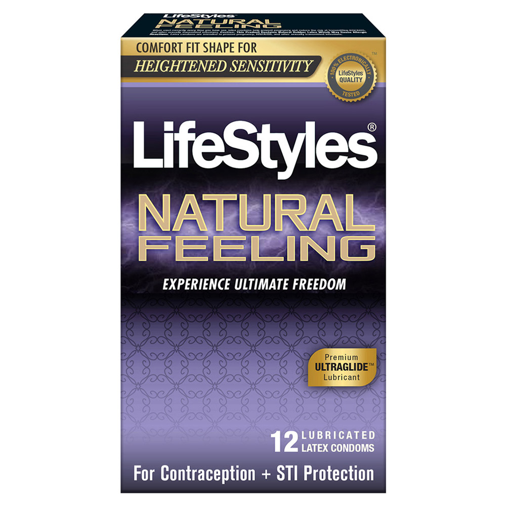 Image of LifeStyles Natural Feeling Condoms 12-Pack