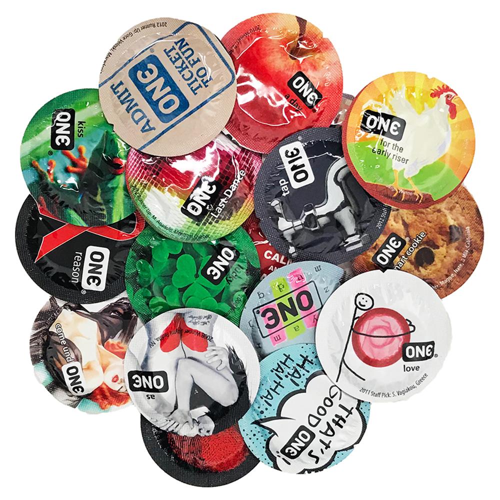 Image of ONE Super Studs Condoms 100-pack