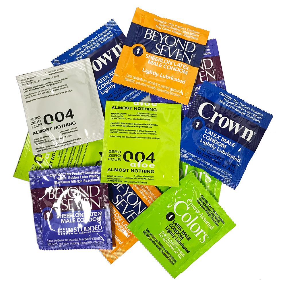 Image of Okamoto Condom Variety Pack