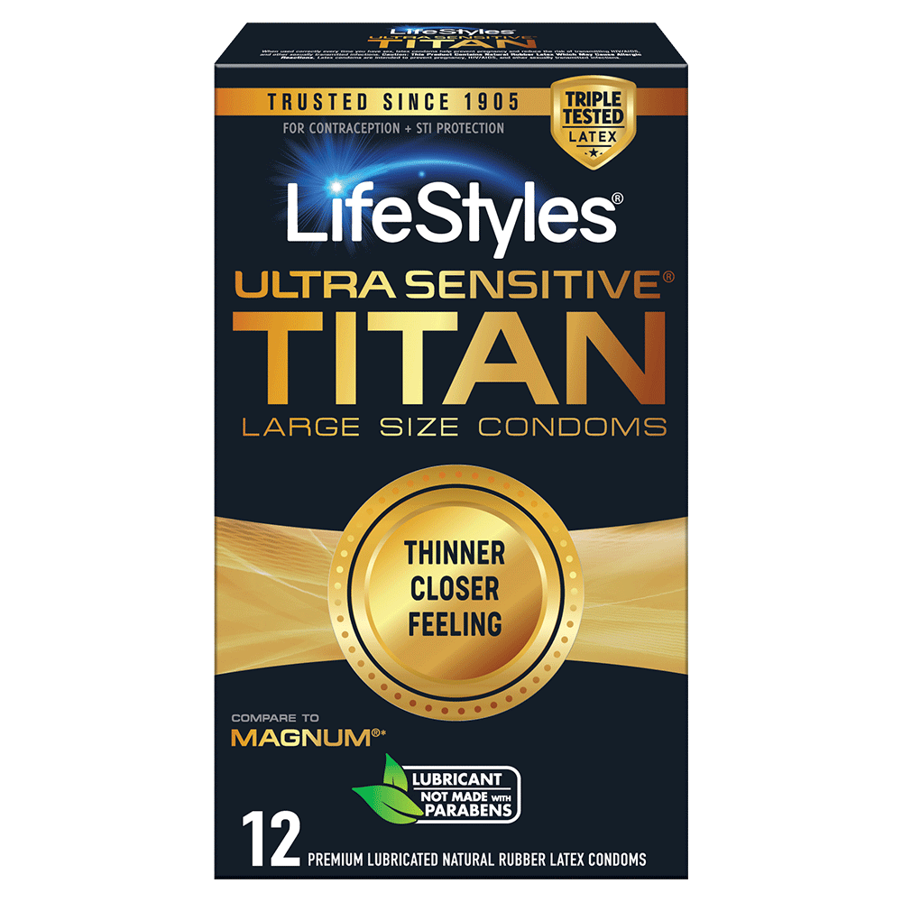 Image of LifeStyles Ultra Sensitive Titan Condoms 36-Pack