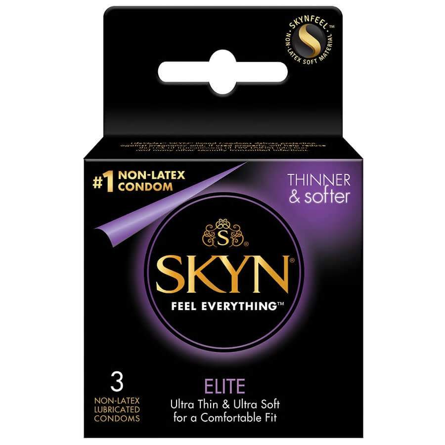 Image of LifeStyles SKYN Elite Ultra Thin Non-Latex Condoms 3-Pack