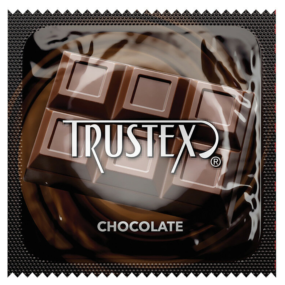 Image of Trustex Chocolate Flavored Lubricated Condoms 100-Pack