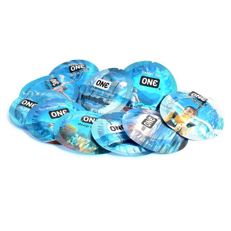 Image of ONE Pleasure Plus Condoms 12-pack