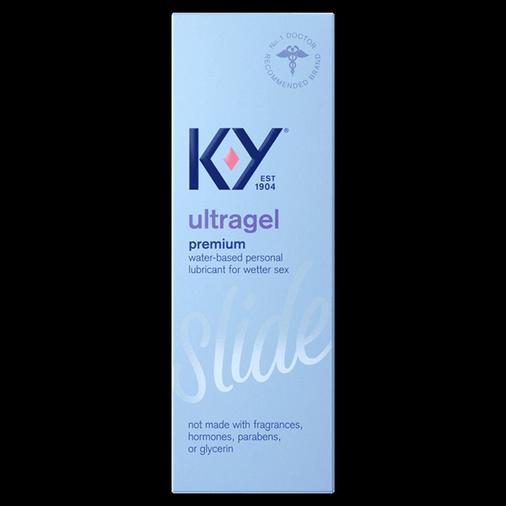 Image of K-Y ULTRAGEL Water Based Lubricant 2-Pack