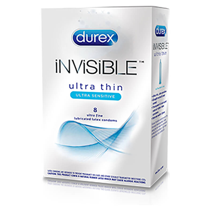 Image of Durex Invisible Ultra Thin Condoms 24-Pack
