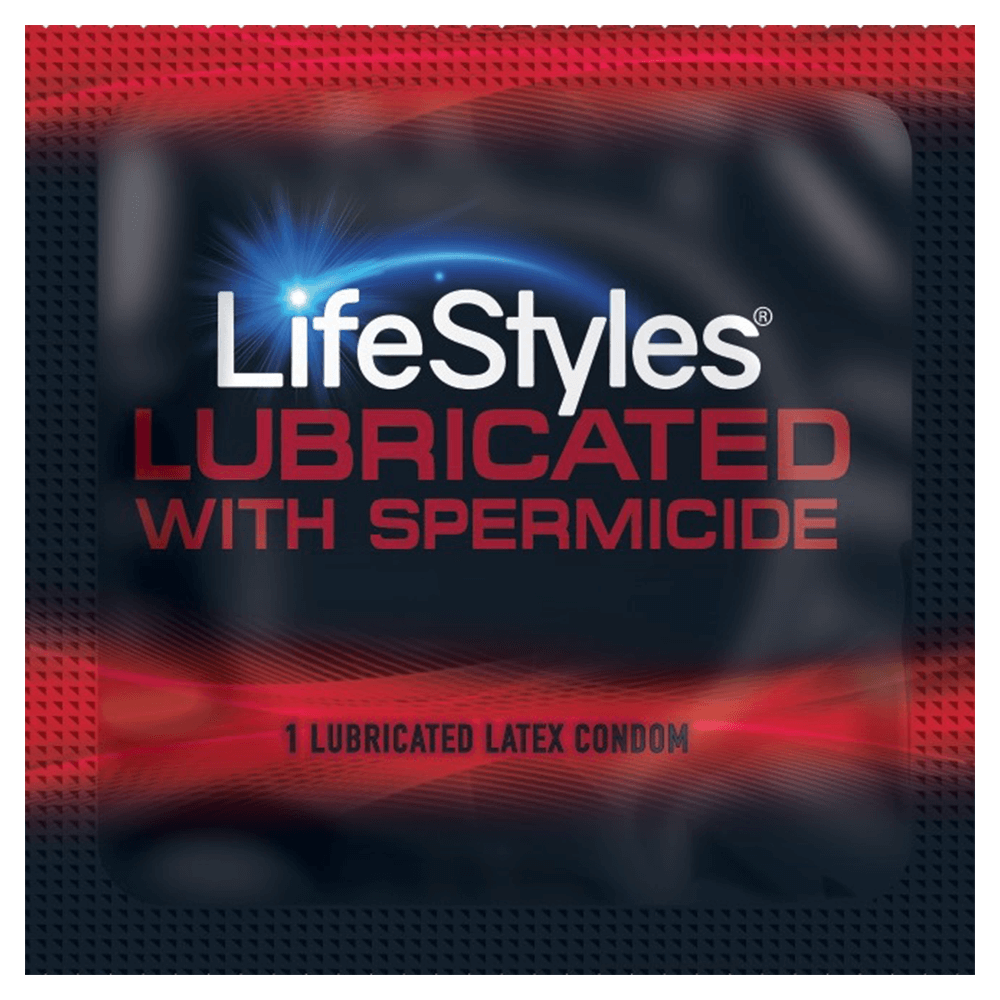 Image of LifeStyles Ultra Lubricated Spermicidal Condoms 12-Pack