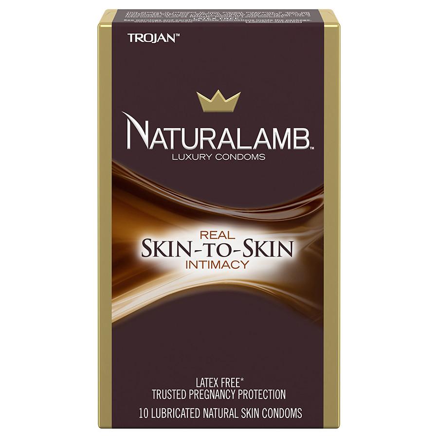 Image of Trojan Natural Lamb Luxury Condoms 3-Pack