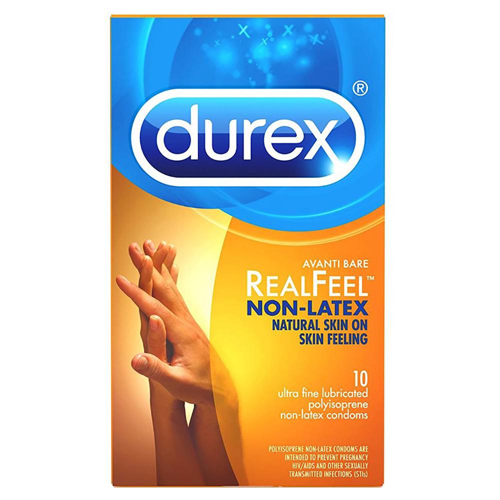 Image of Durex Avanti Bare Real Feel Non-Latex Condoms 30-Pack