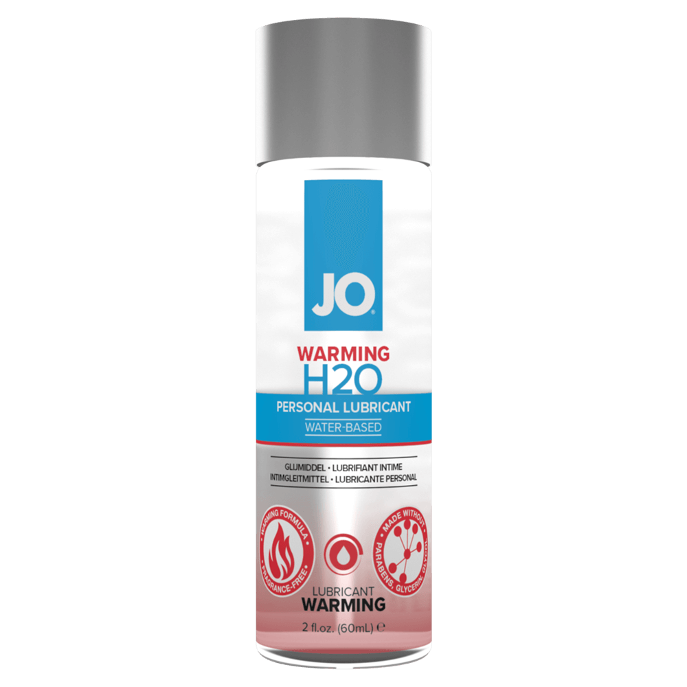 Image of System JO H2O Warming Water Based Lubricant 2-Pack