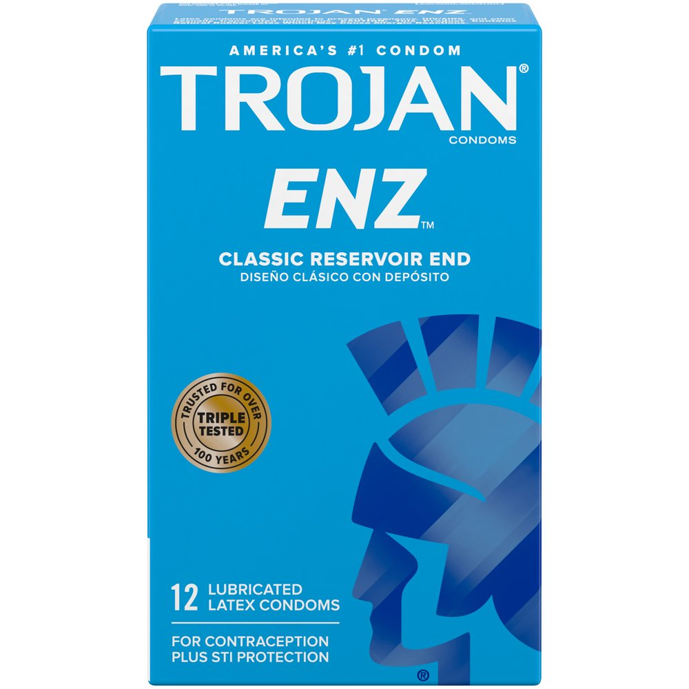 Image of Trojan ENZ Lubricated Condoms 108-pack