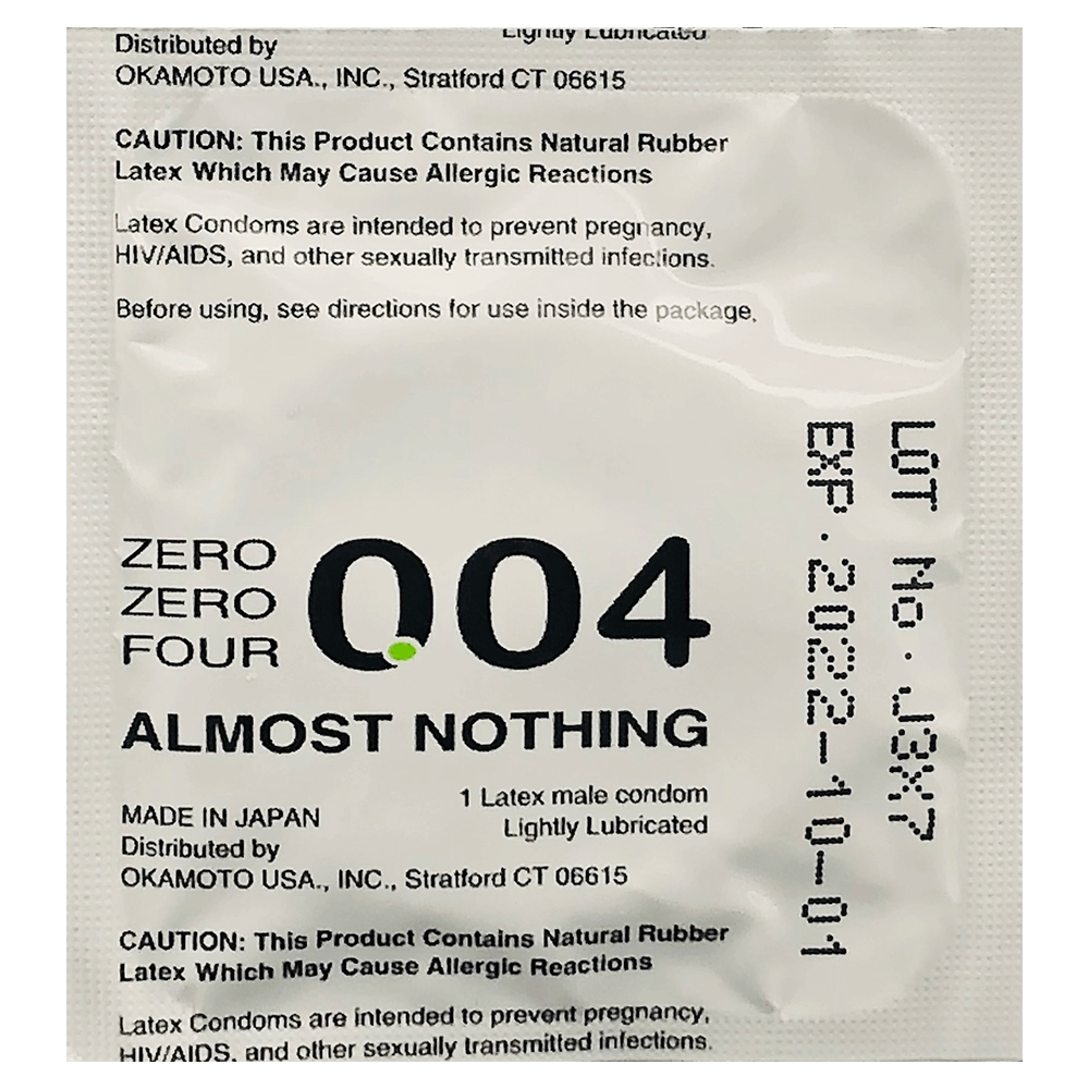 Image of Okamoto Crown Zero Zero Four Condoms 12-Pack