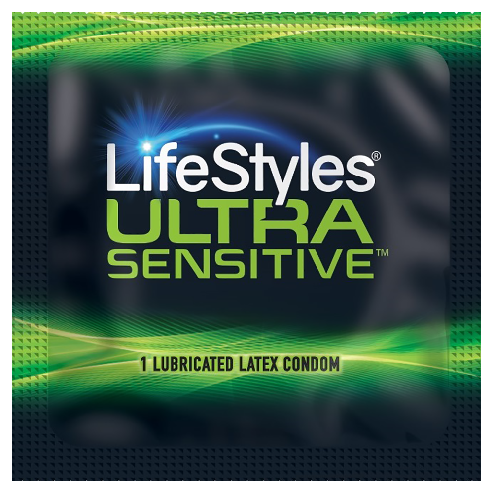 Image of Lifestyles Ultra Sensitive Condoms 100-pack