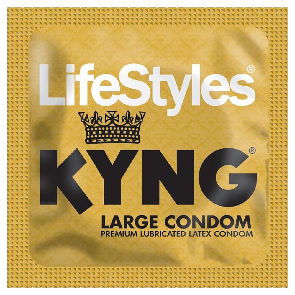 Image of Lifestyles KYNG Large Condoms 12-Pack
