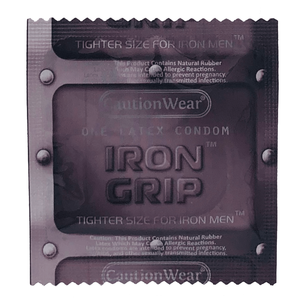 Image of Caution Wear Iron Grip Snugger Fit Condoms 36-Pack
