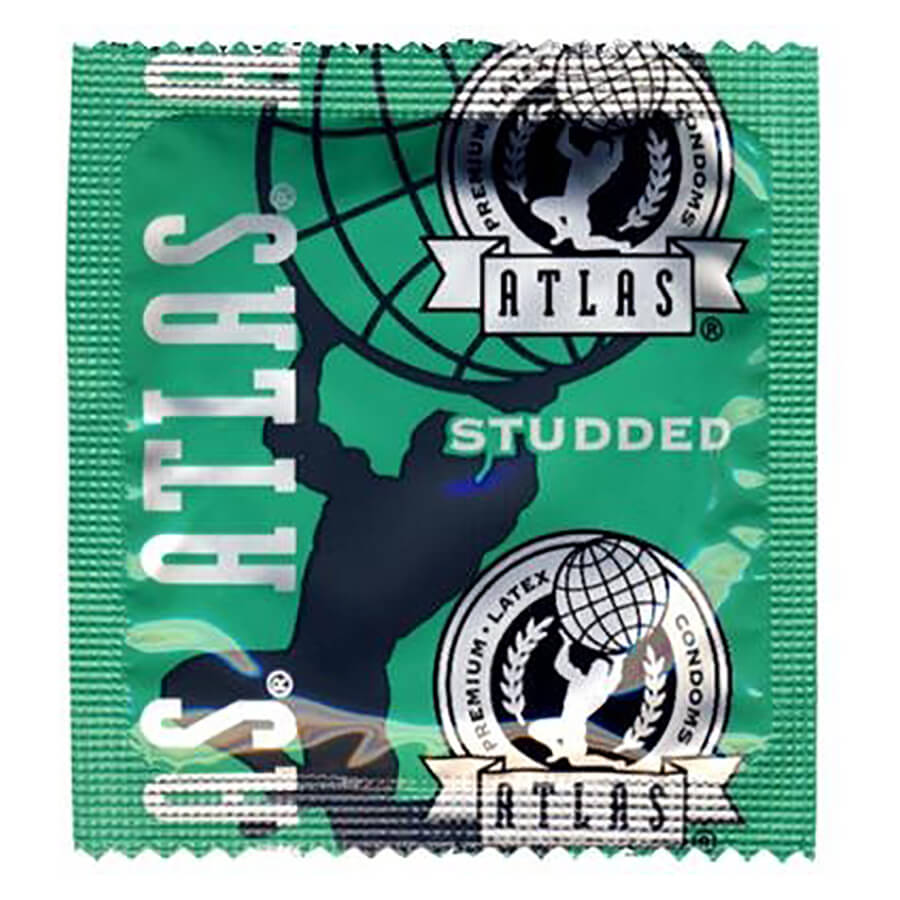 Image of Atlas Studded Condoms 100-Pack