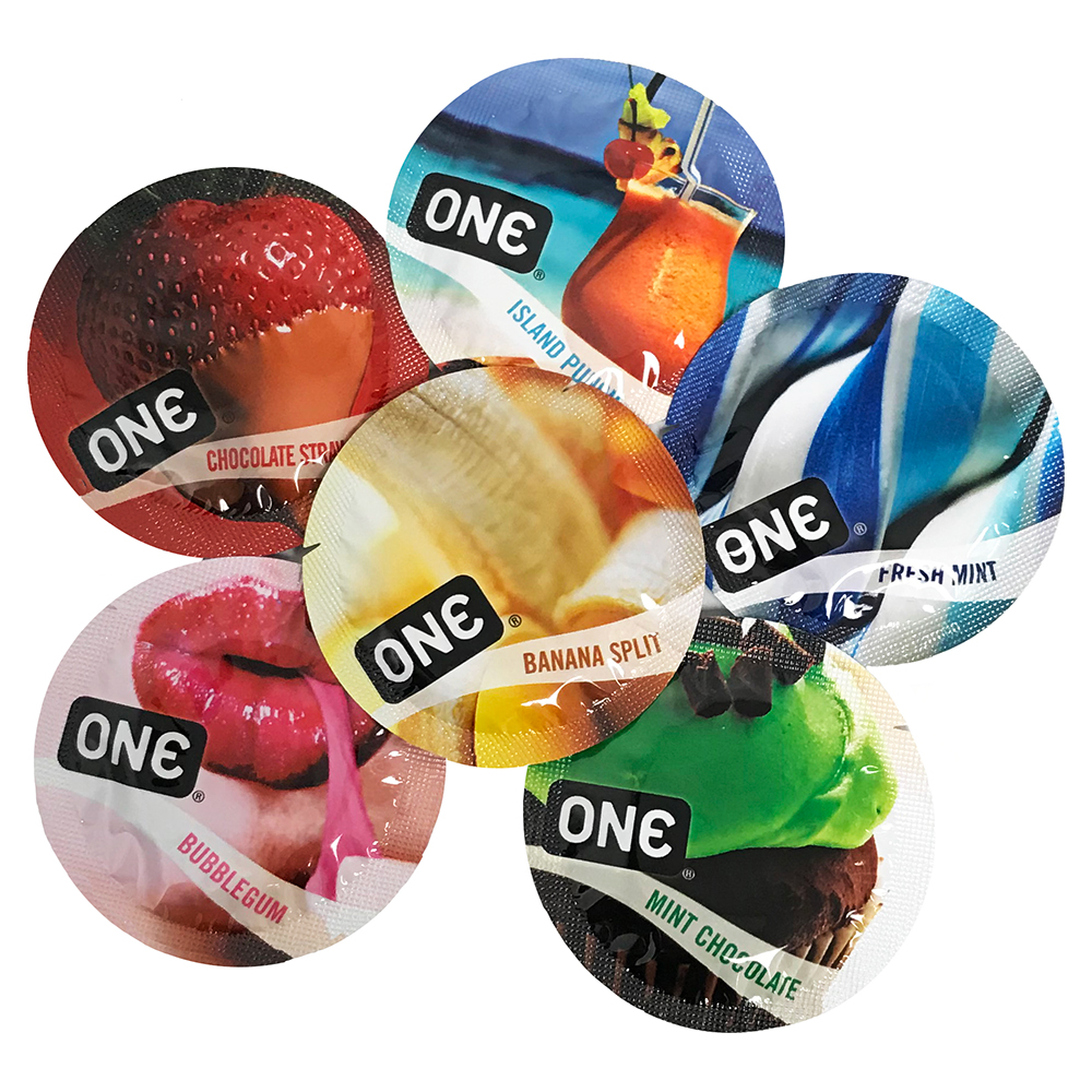 Image of ONE Flavor Waves Condoms 12-pack