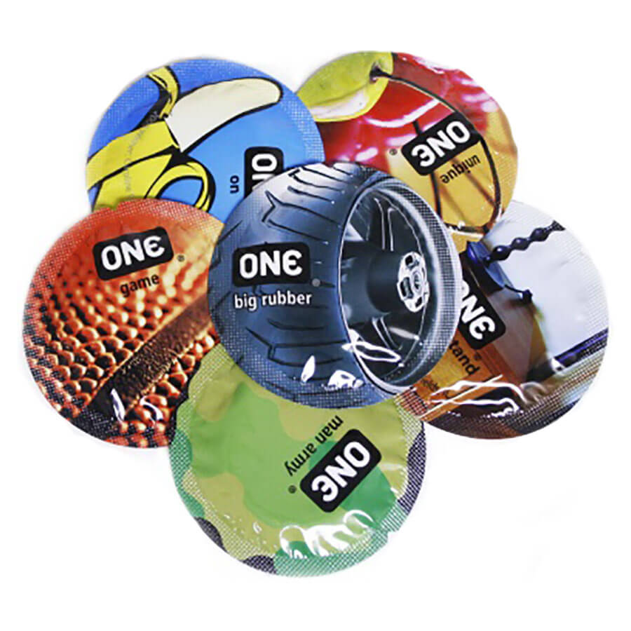 Image of ONE Pleasure Dome Condoms 36-pack