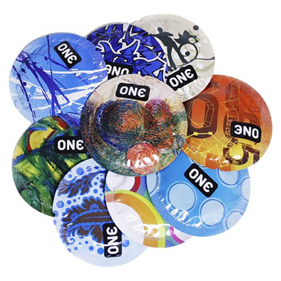 Image of ONE Classic Select Designer Condoms 100-pack