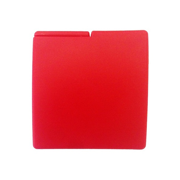 Image of Global Protection Red Compact Condom Case