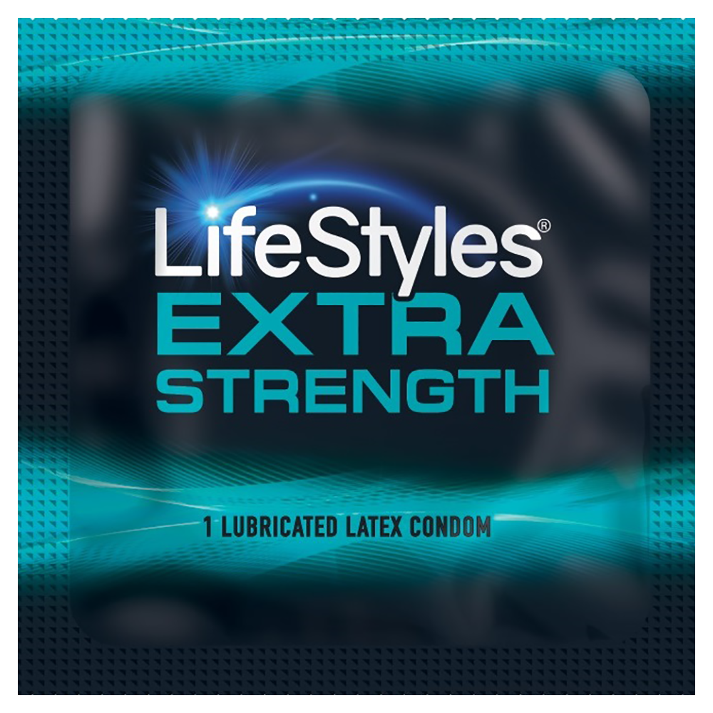 Image of Lifestyles Extra Strength Condoms 12-pack
