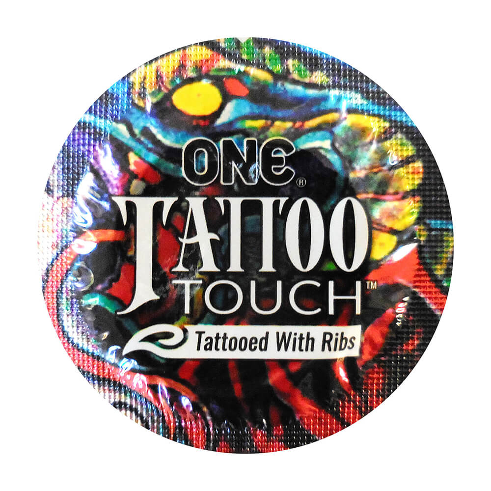 Image of ONE Tattoo Touch Condoms 36-pack