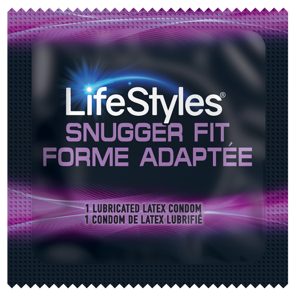 Image of Lifestyles Snugger Fit Condoms 100-Pack