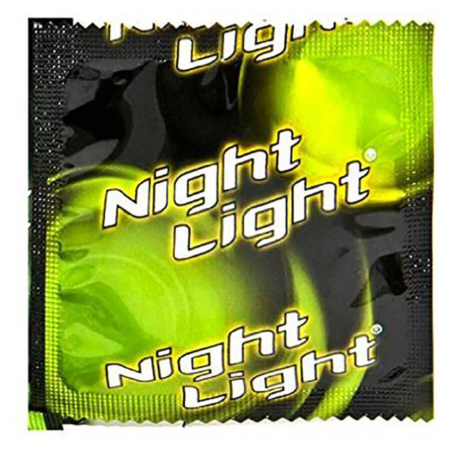 Image of Night Light Glow in the Dark Condoms 36-pack