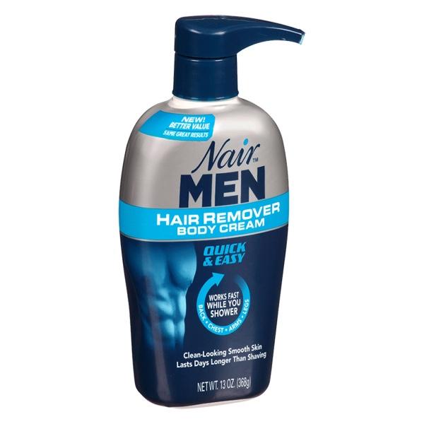 Image of Nair for Men Cream Pump 4-Pack