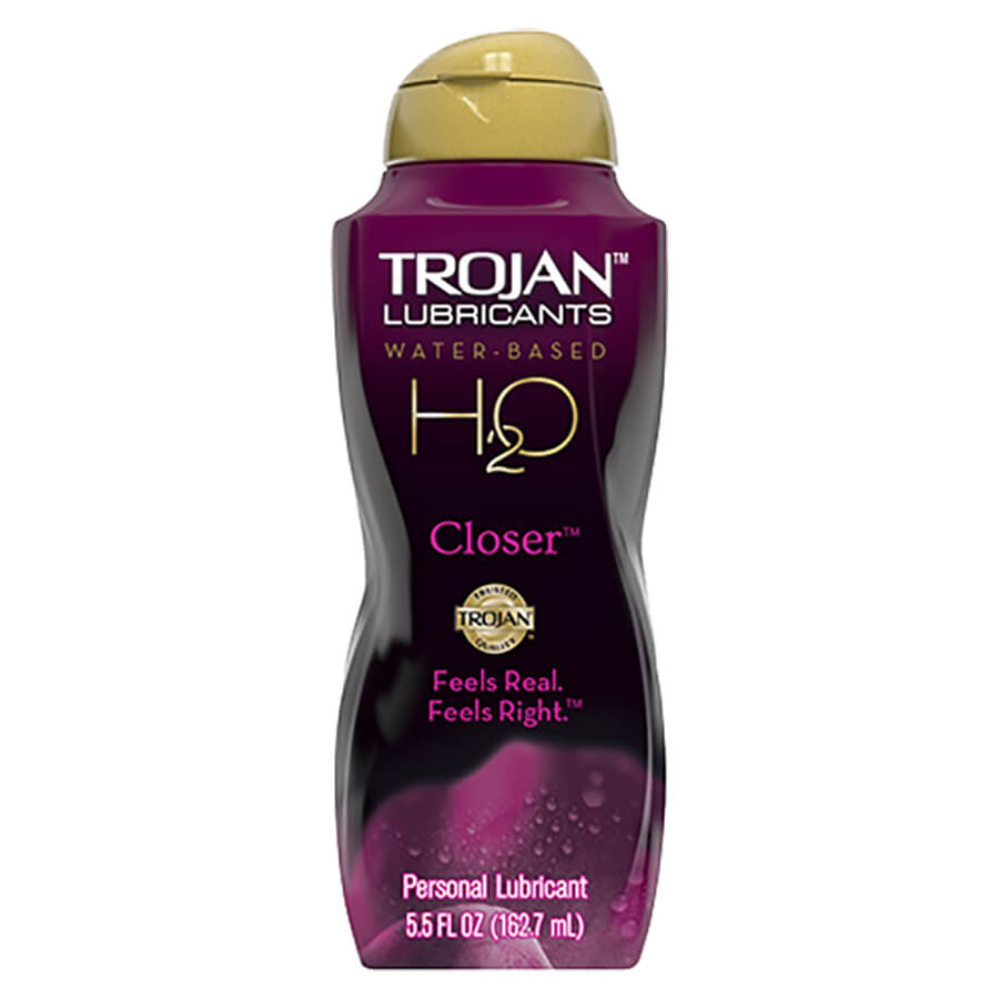 Image of Trojan H20 Closer Lubricant 2-Pack